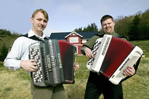 norsk harmonika musik